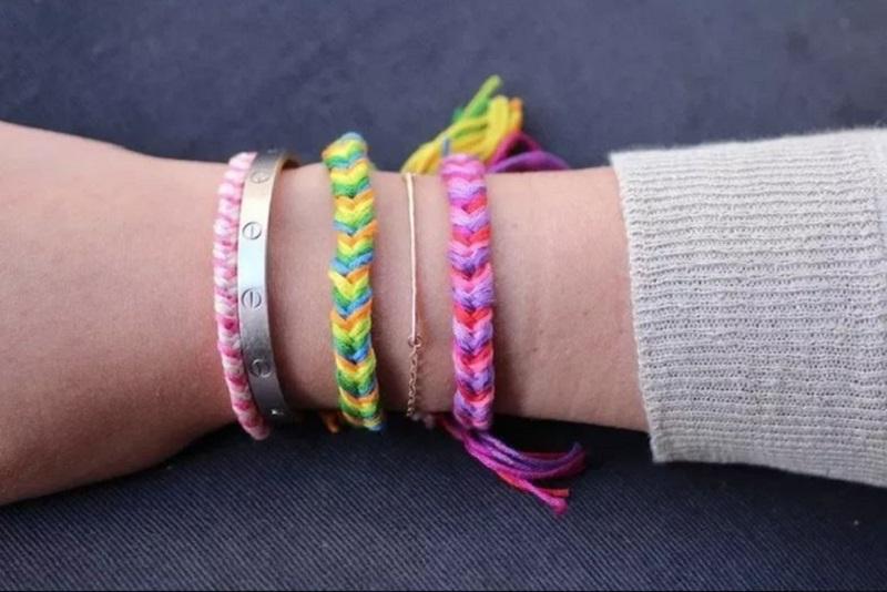 Fishtail bracelets