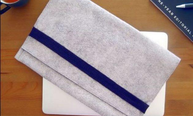 Simple grey laptop case
