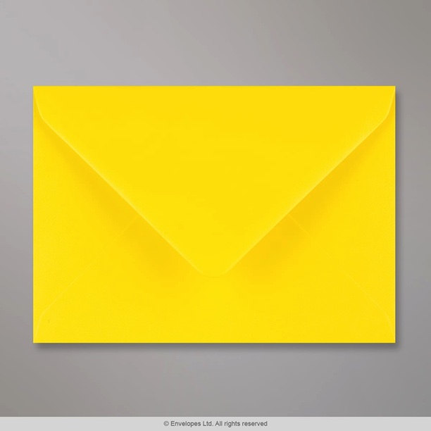 114x162 Mm C6 Daffodil Yellow Envelope AM36C6 Simply Envelopes