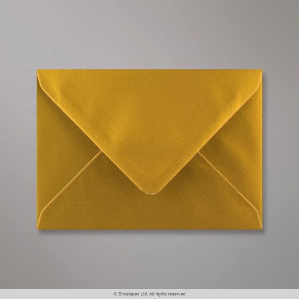 114x162 Mm C6 Metallic Gold Envelope D04C6 Simply