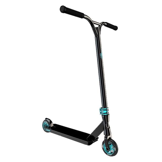 Lucky Prospect Pro Complete Scooter - Black/Teal | Lucky ...