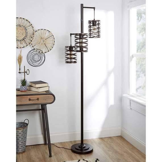 j hunt home brady metal floor lamp h4