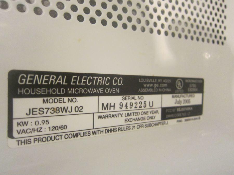 ge turntable microwave