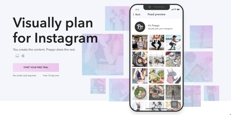 Preppr is THE Instagram sidekick, you create the content and Preppr does the rest