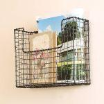 Set Of 3 Wall Mounted Storage Baskets