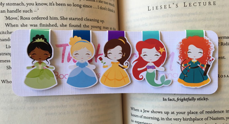 Fell Asleep Here Bookmark
