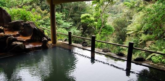 Japanese spa Onsen