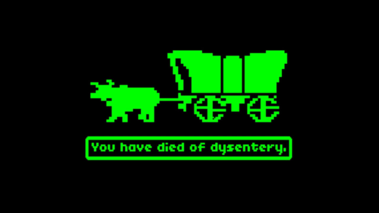 Image result for oregon trail computer game