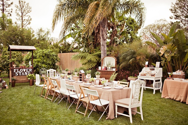 An Outdoor Bridal Shower Filled With Love And Laughter