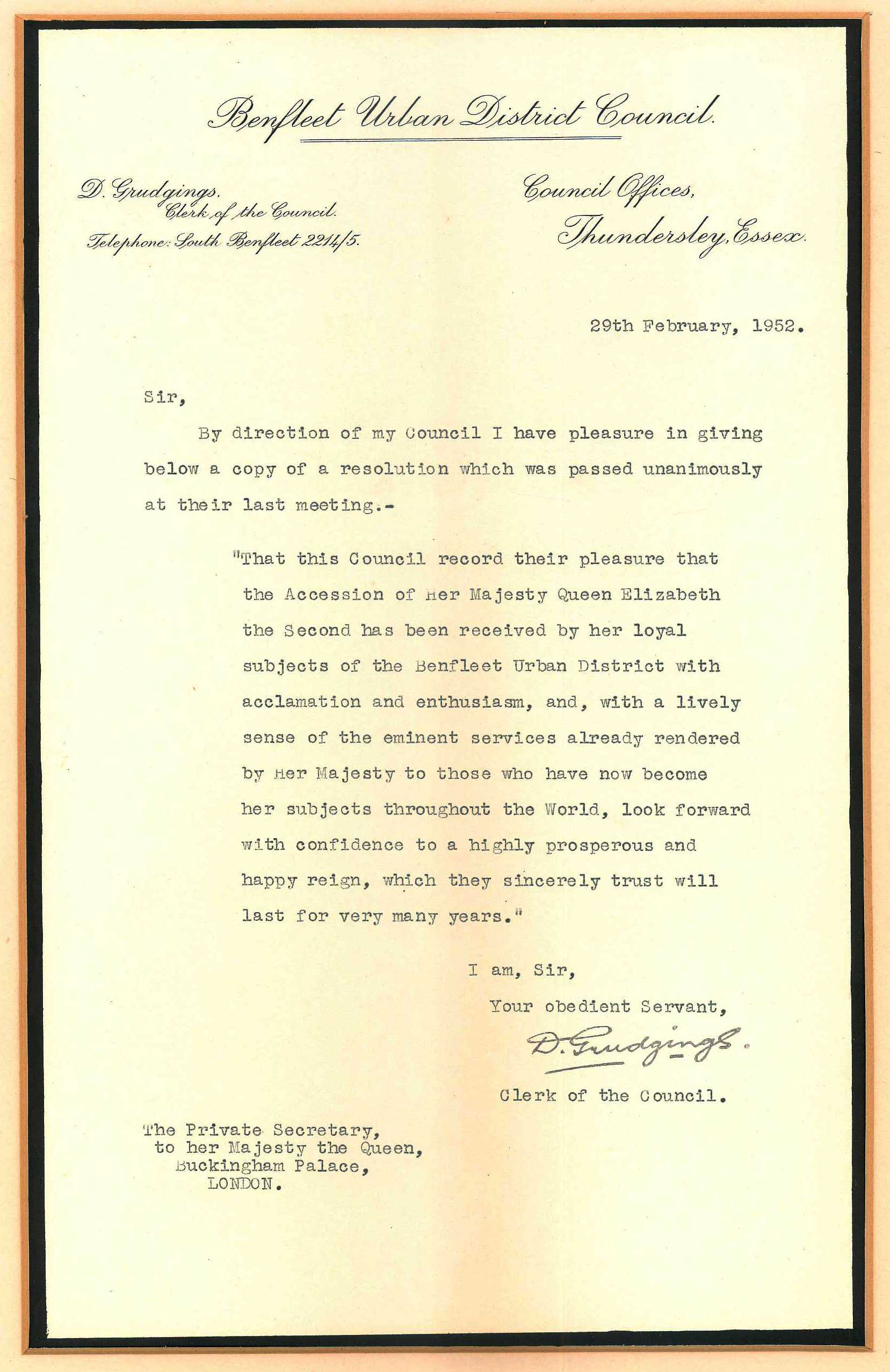 Image result for Proclamation of accession of Queen Elizabeth II