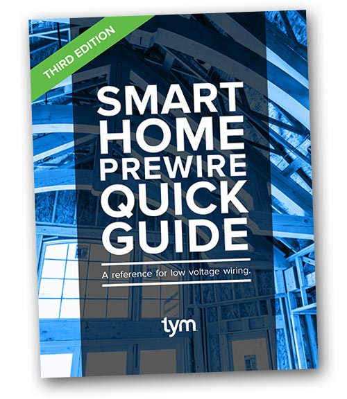 Smart Home Prewire Quick Guide
