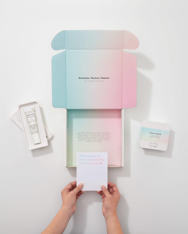 Example of branded packaging