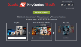 2K Releases Humble Bundle for PS3, PS4 and Vita