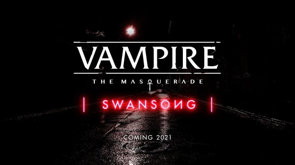 Swansong is the name of the Vampire: The Masquerade game due out 2021