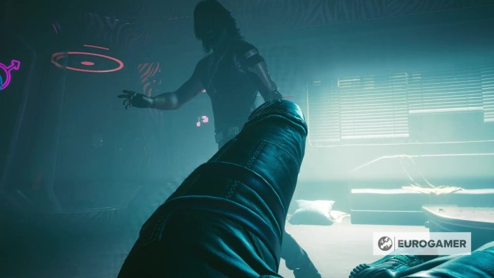 People are modding Cyberpunk 2077 to have sex with Keanu Reeves' character 2
