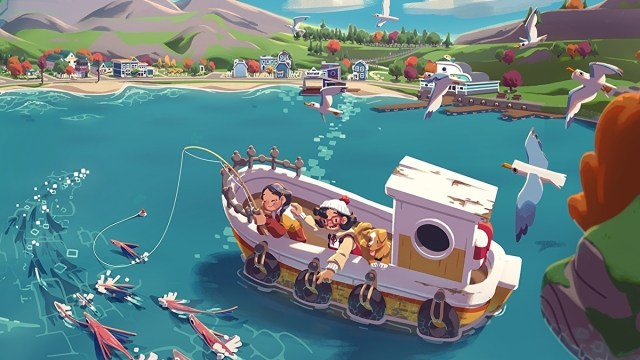 Relaxing slice-of-life fishing adventure Moonglow Bay out in October on Xbox and PC 2