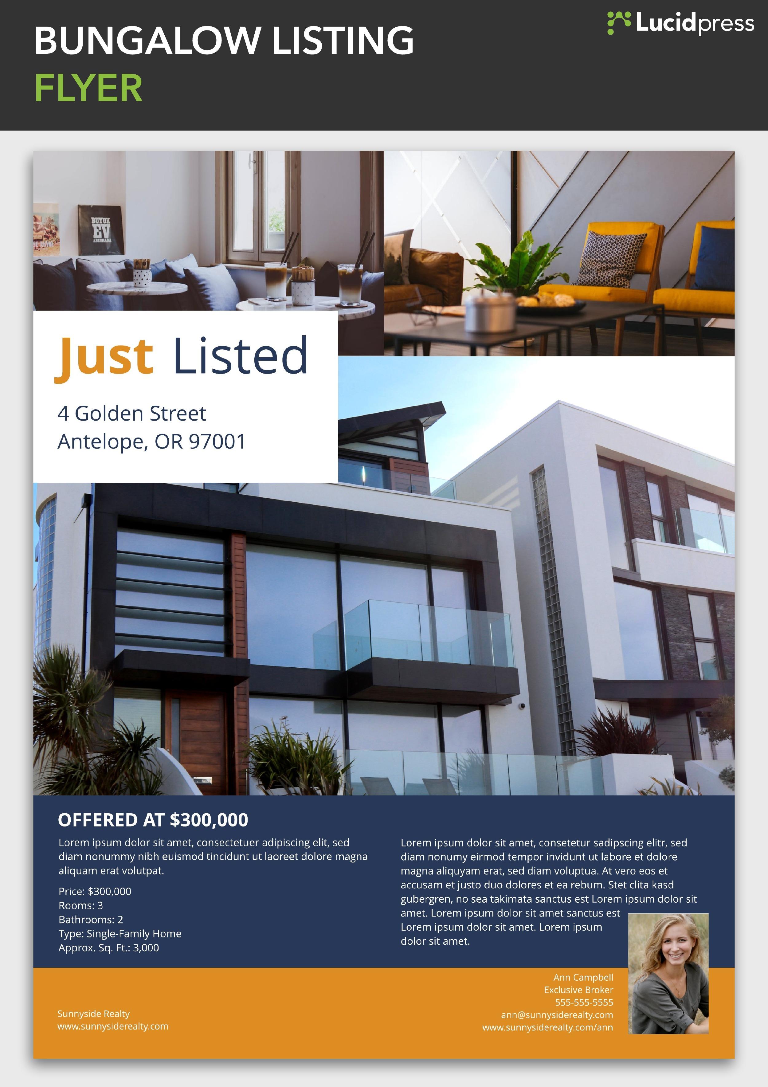 Sample Real Estate Listing Presentations