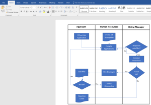 How to Create a Swimlane Diagram in Word | Lucidchart