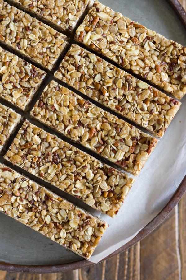 Chewy Granola Energy Bar Recipe