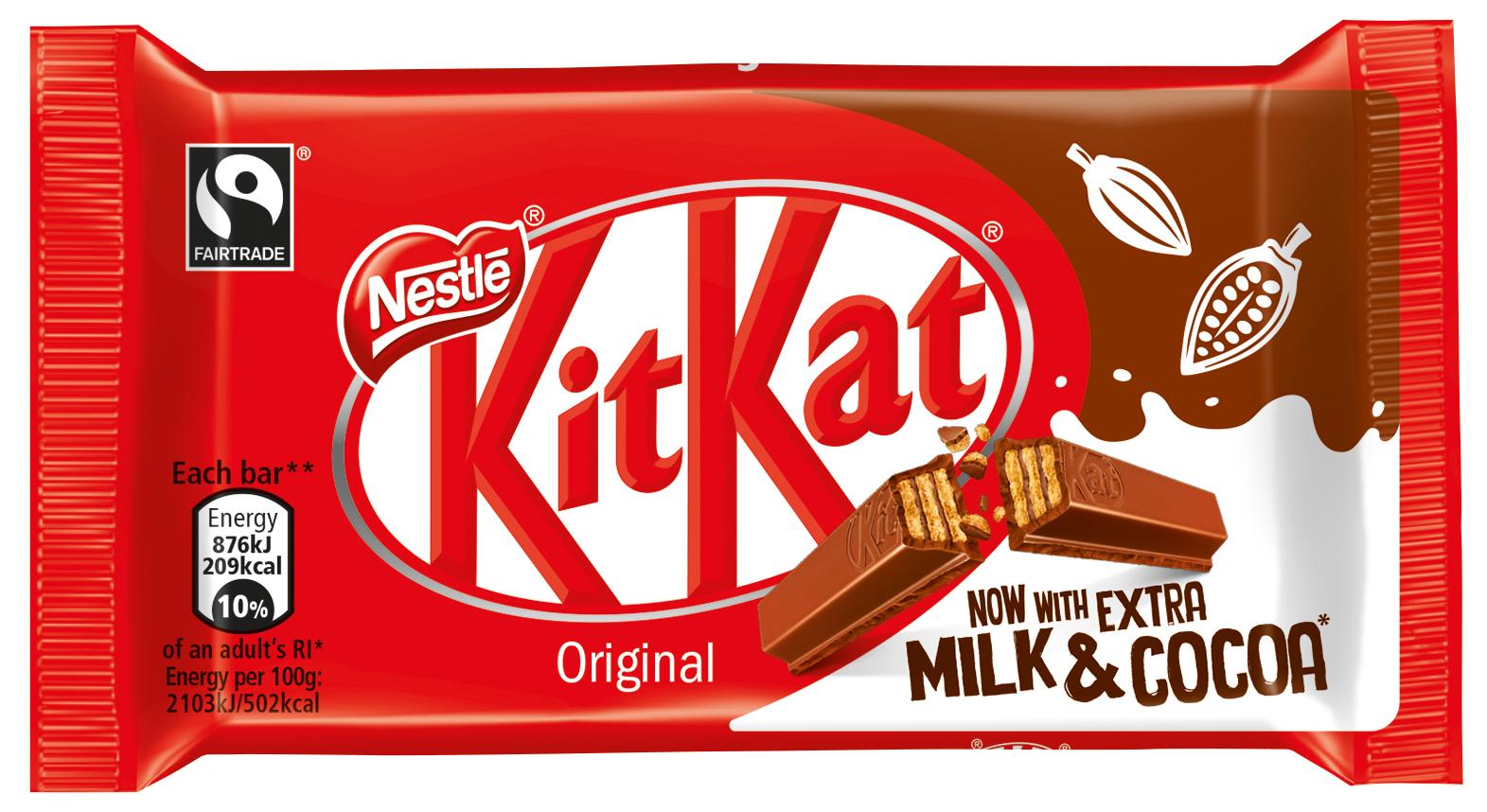Kit Kat Launches Low Sugar Recipe