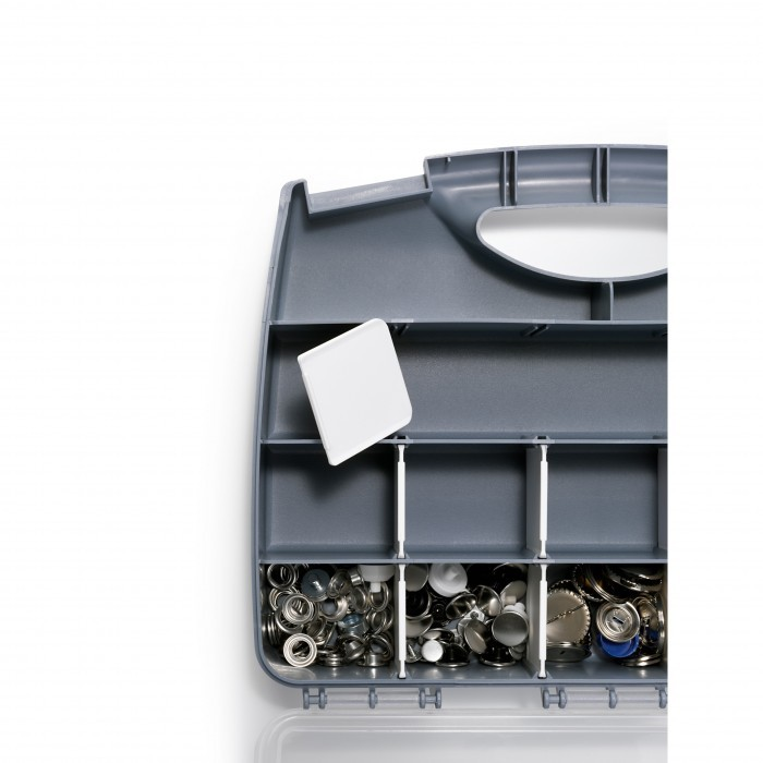 boite de rangement avec compartiments a partir de prym