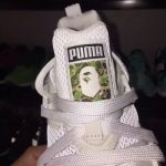 リーク A Bathing Ape x Puma BLAZE OF GLORY sample