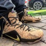 "9月12日発売予定 直 Nike LeBron 12 EXT""King's Cork"""