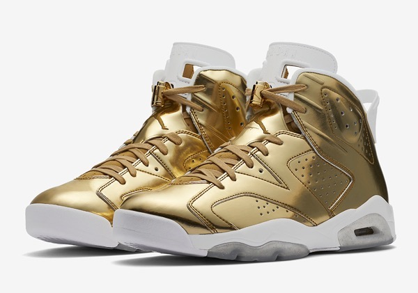 "Air Jordan 6 PREMIUM ""Metallic Gold"""