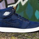"8月27日発売予定 Nike Air Jordan 1 KO High ""Obsidian/White"""
