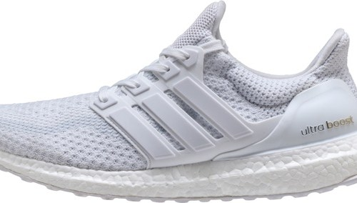 UltraBOOST Heather white