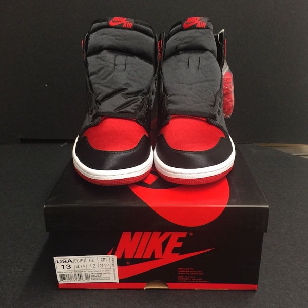 "AIR JORDAN 1 Banned ""SATIN"""