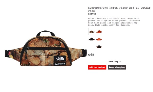 SUPREME x THE NORTH FACE 2016FW