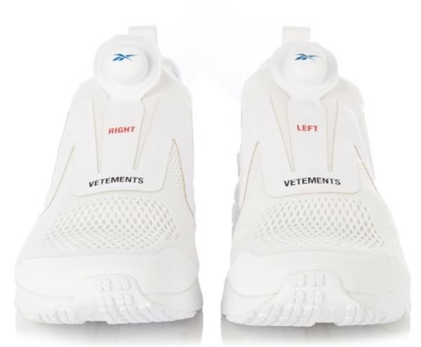 VETEMENTS x Reebok InstaPump Fury trainers