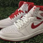 "5月6日発売予定 NIKE AIR JORDAN 1 RETRO HIGH OG ""METALLIC RED"""