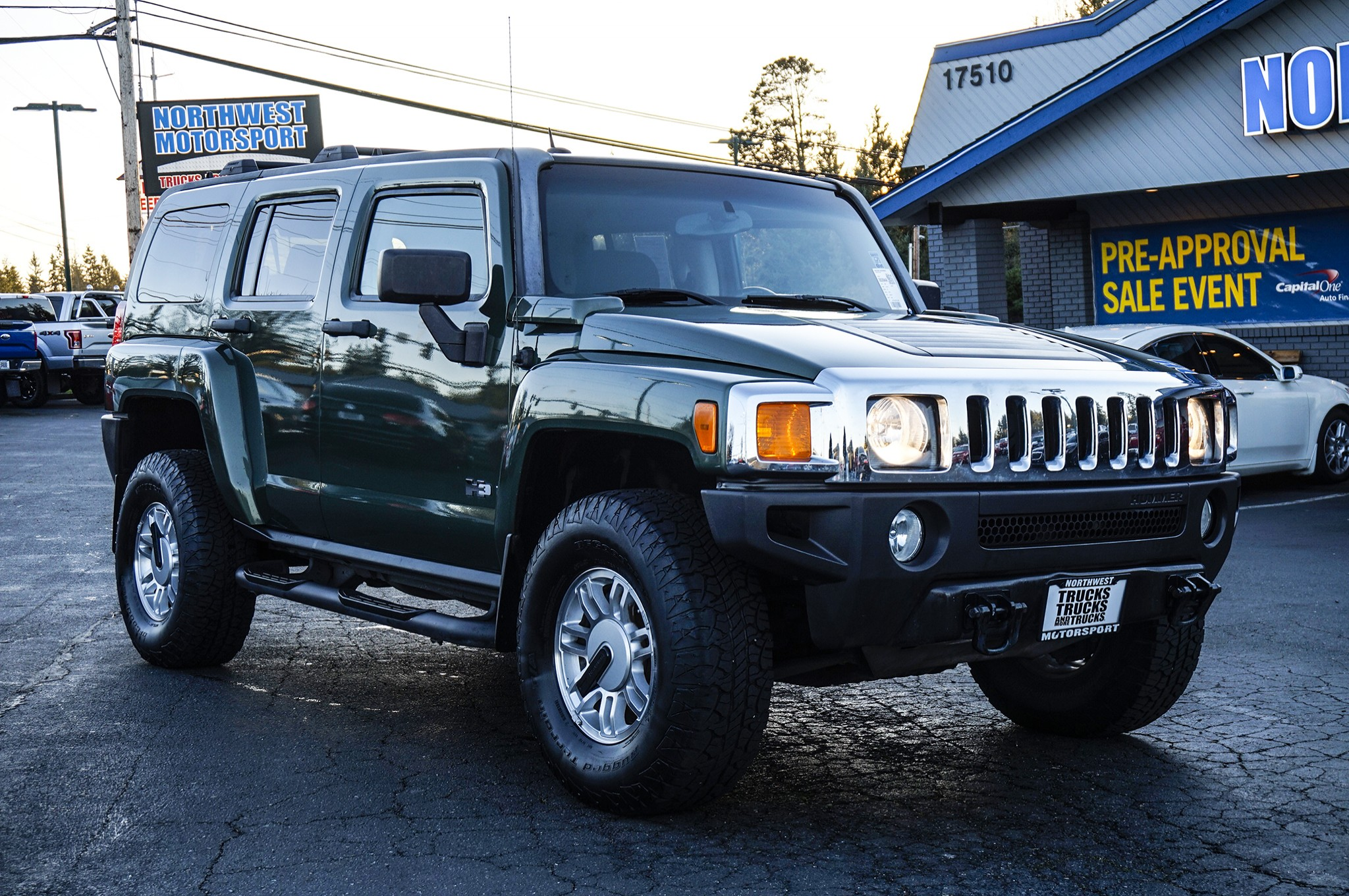 2006 Hummer H3 Blue Gallery Cars Wallpaper Free