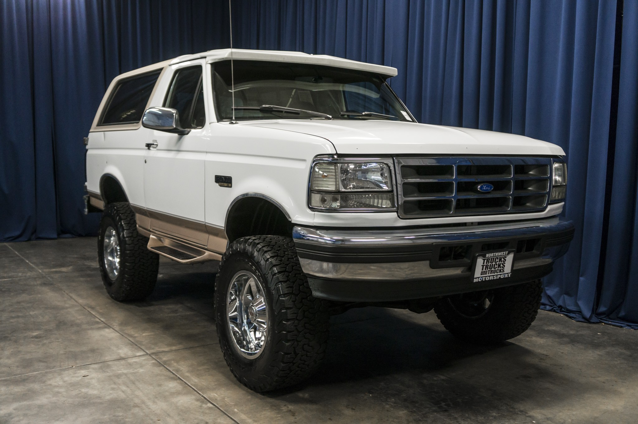 Used Lifted 1996 Ford Bronco Eddie Bauer 4x4 SUV For Sale