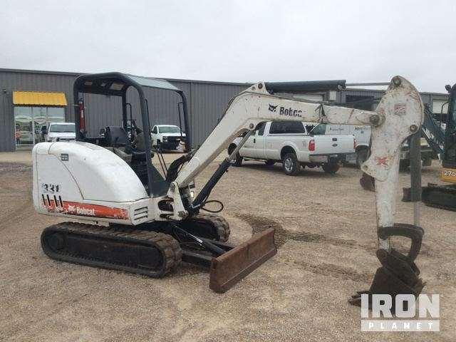2008 Bobcat 331G Mini Excavator For Sale, 2,859 Hours