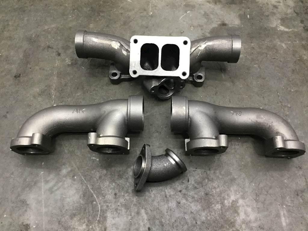 detroit series 60 12 7l exhaust manifold