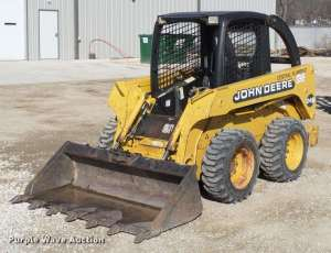 1999 John Deere 240 skid steer For Sale, 773 Hours