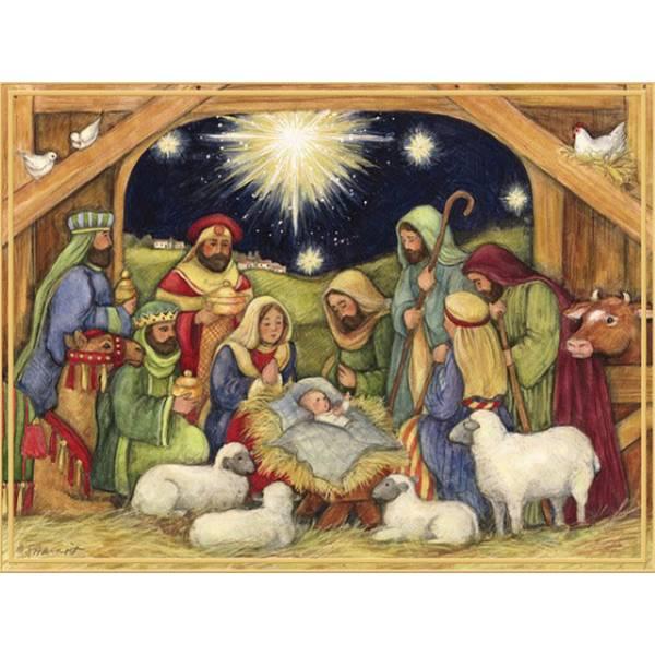 Lang Adore Him Boxed Christmas Cards