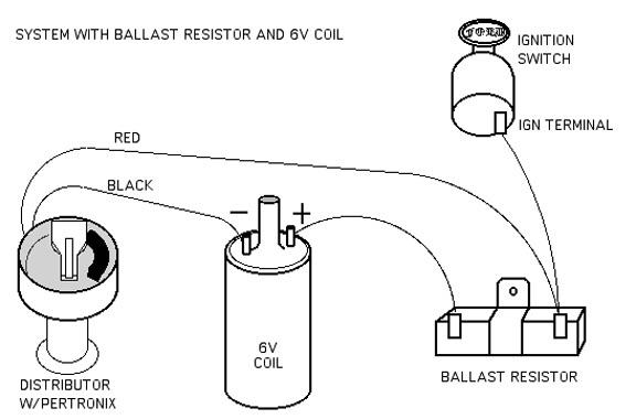 No brainer wiring question  Ballast resistor  BMW 2002
