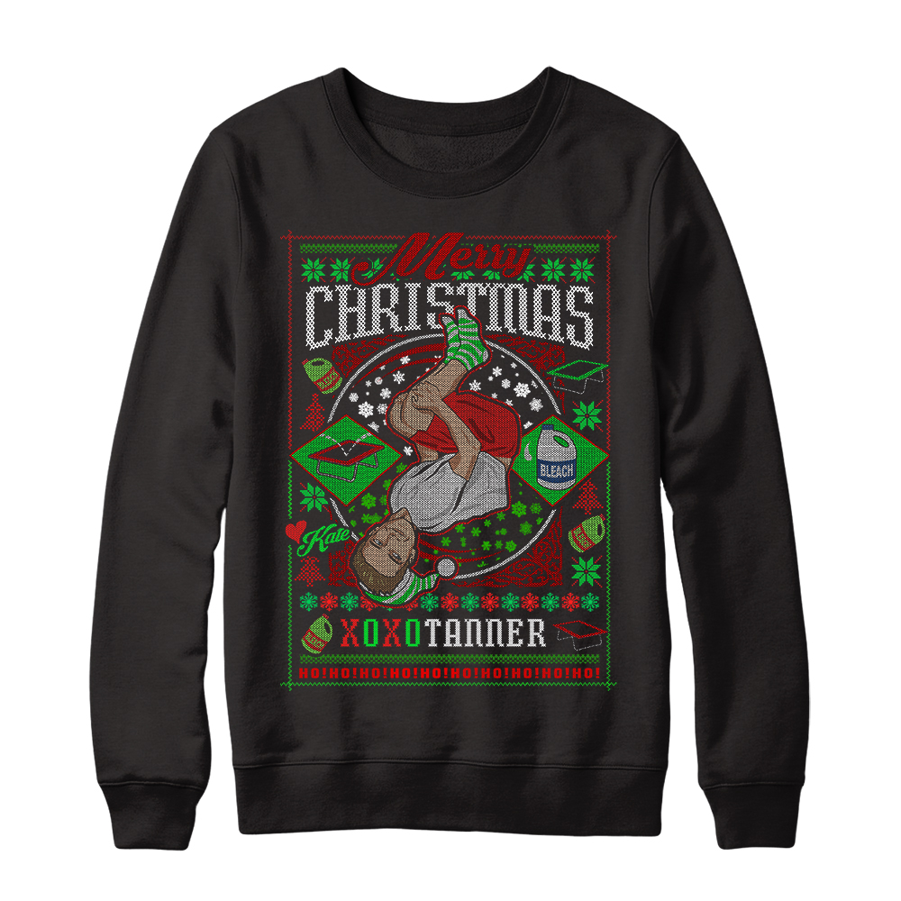 Tanner Braungardts Holiday Sweater Represent