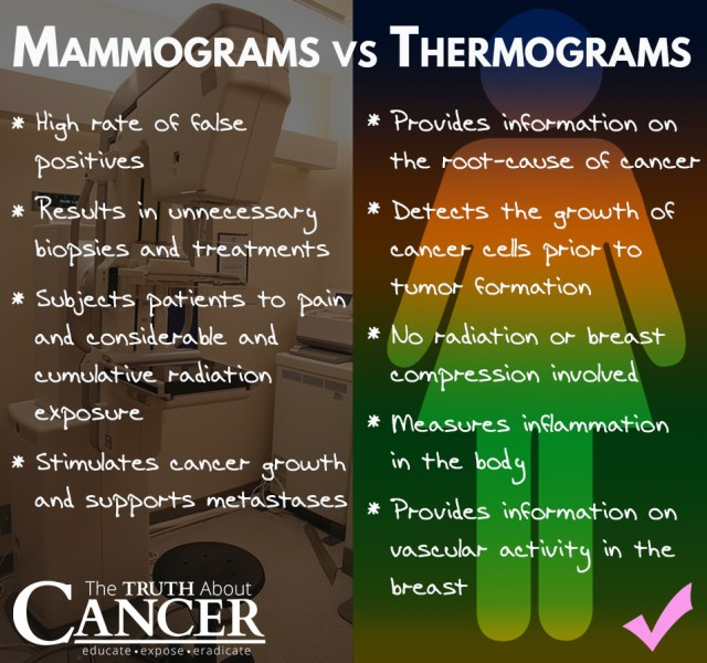 Image result for thermoscan vs mammogram