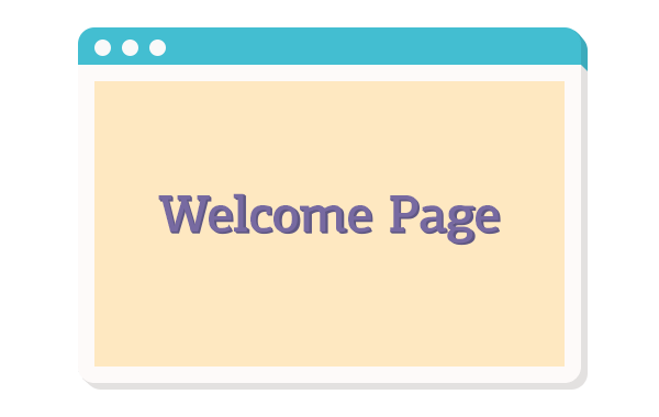 Welcome Pages