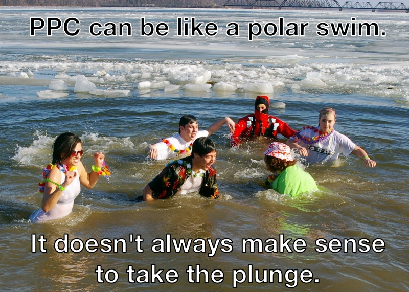 PPC is like a polar swim