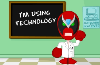 I\'m using technology.jpg