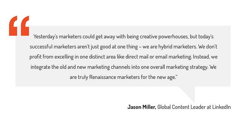 future of marketing quote linkedin