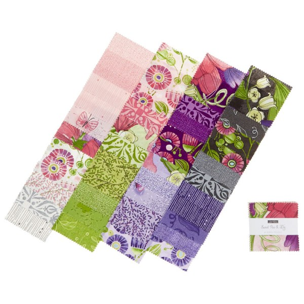 sweet pea lily jelly roll # 30