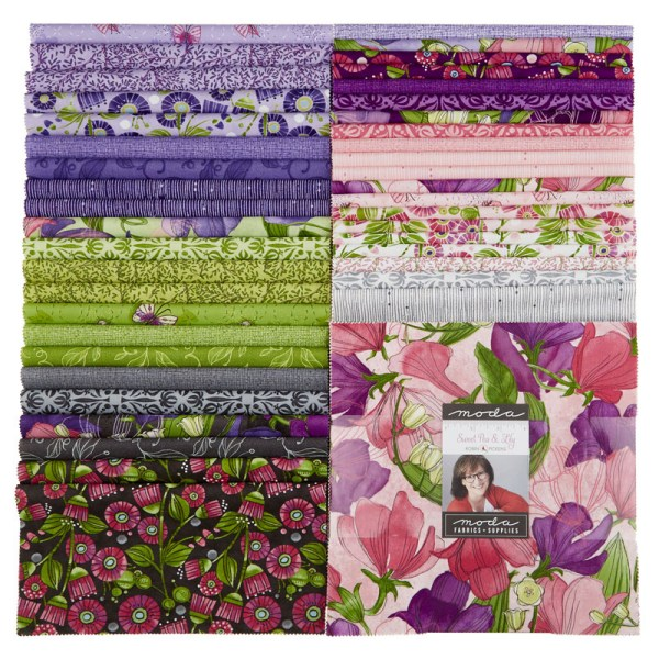 sweet pea lily jelly roll # 6