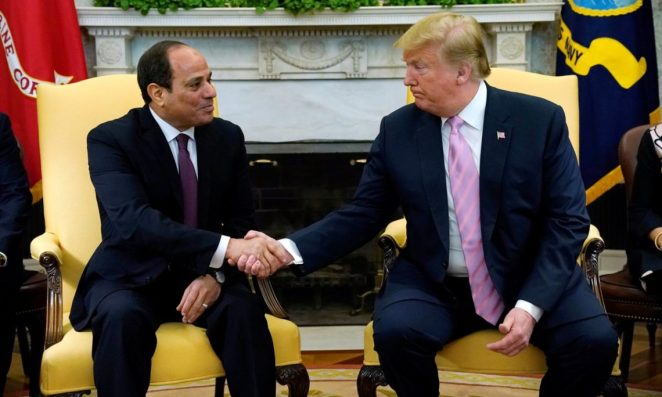 Remarks by President Trump and President Abdel Fattah Al Sisi of the Arab  Republic of Egypt Before Bilateral Meeting | U.S. Embassy in Egypt